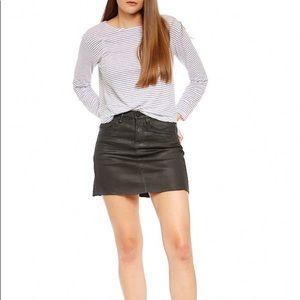 Blank NYC Black Mini Skirt